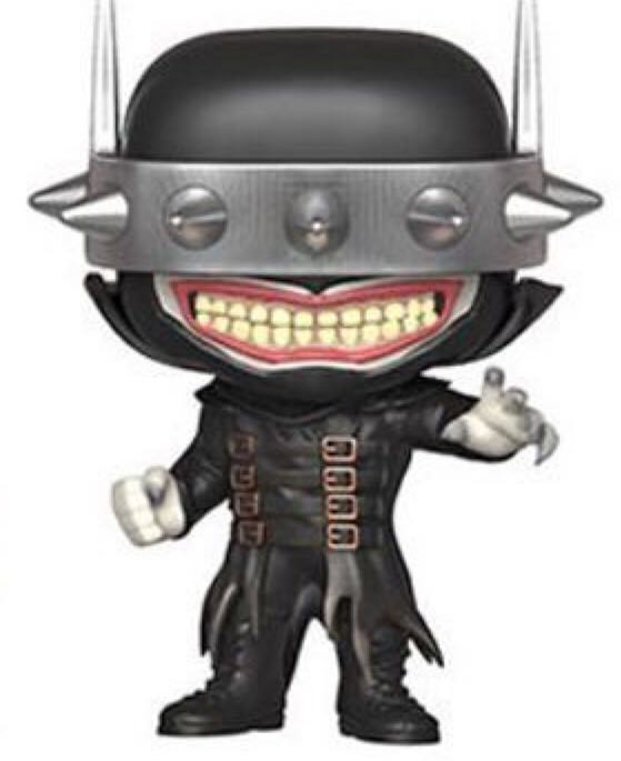 Batman Who Laughs Funko - POP! Heroes (256) back image (back cover, second image)