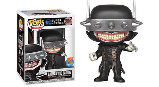 Batman Who Laughs Funko - POP! Heroes (256) front image (front cover)