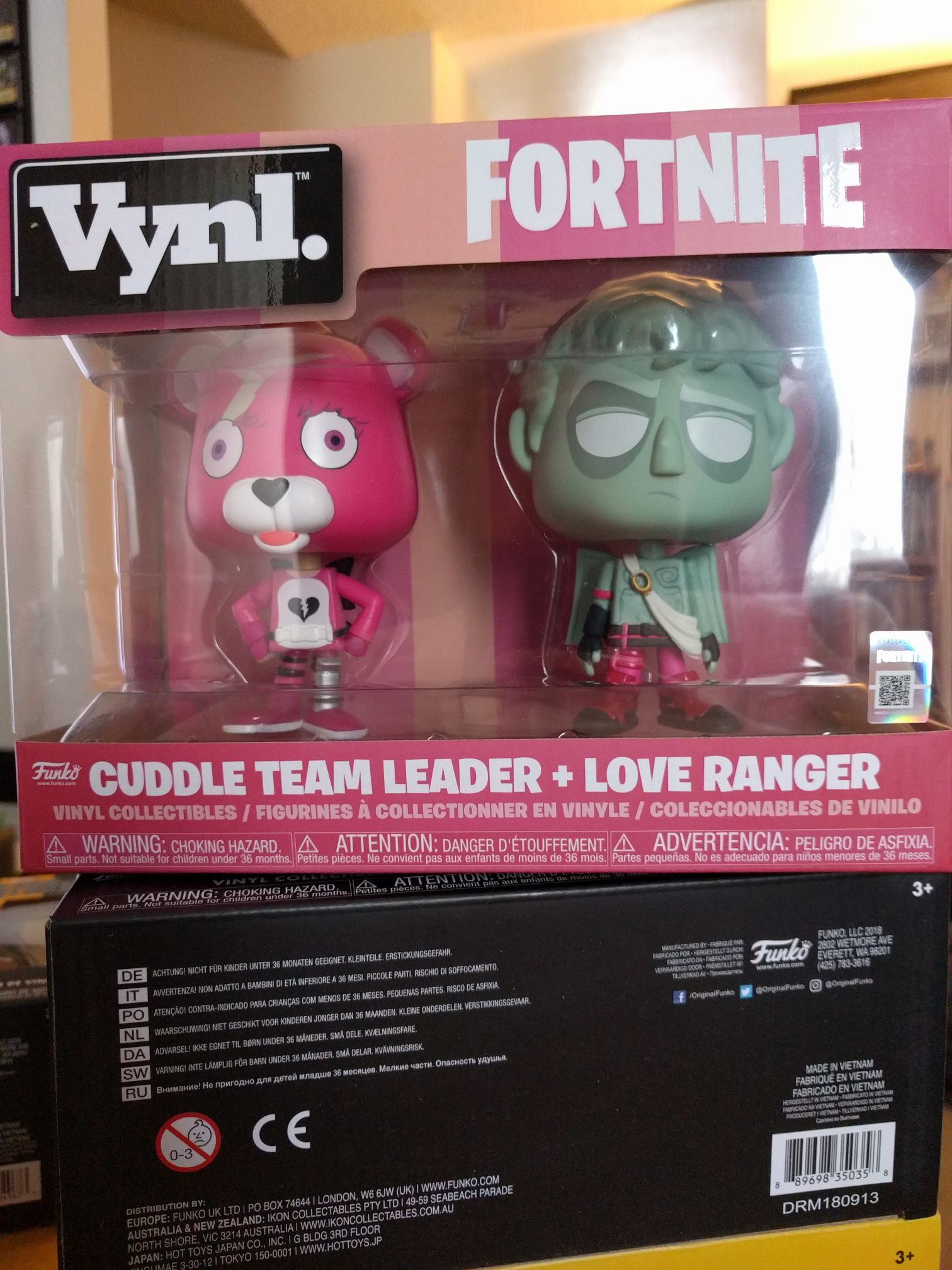 Cuddle Team Leader + Love Ranger Funko - Vynl front image (front cover)