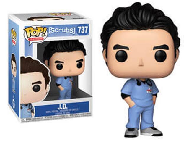 J.D. Funko - POP! Television (737) front image (front cover)