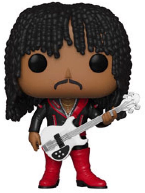 Rick James Funko - POP! Rocks (100) back image (back cover, second image)