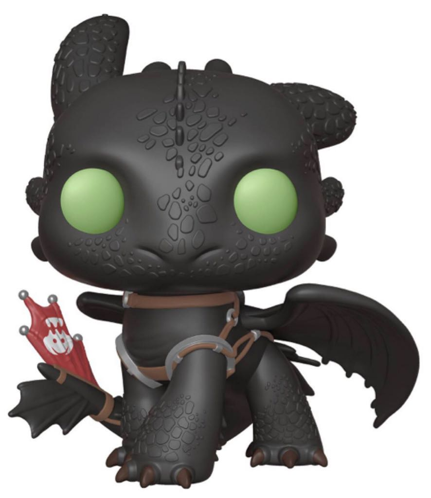 Big Toothless 686 Funko - POP! Movies (686) back image (back cover, second image)
