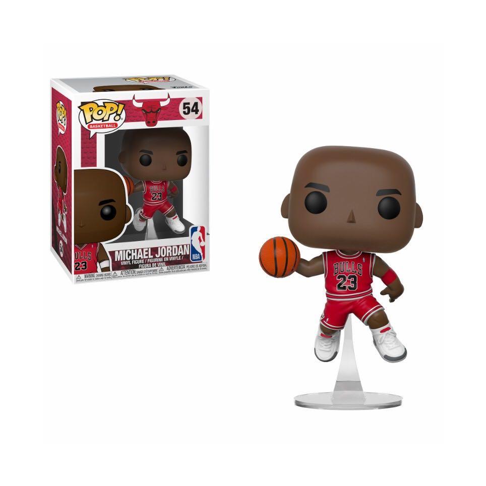 Michael Jordan - Slam Dunk Funko - Pop! Basketball (54) front image (front cover)