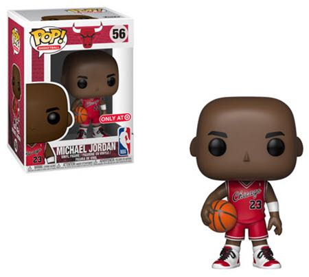 Michael Jordan Funko - POP! Basketball (56) front image (front cover)