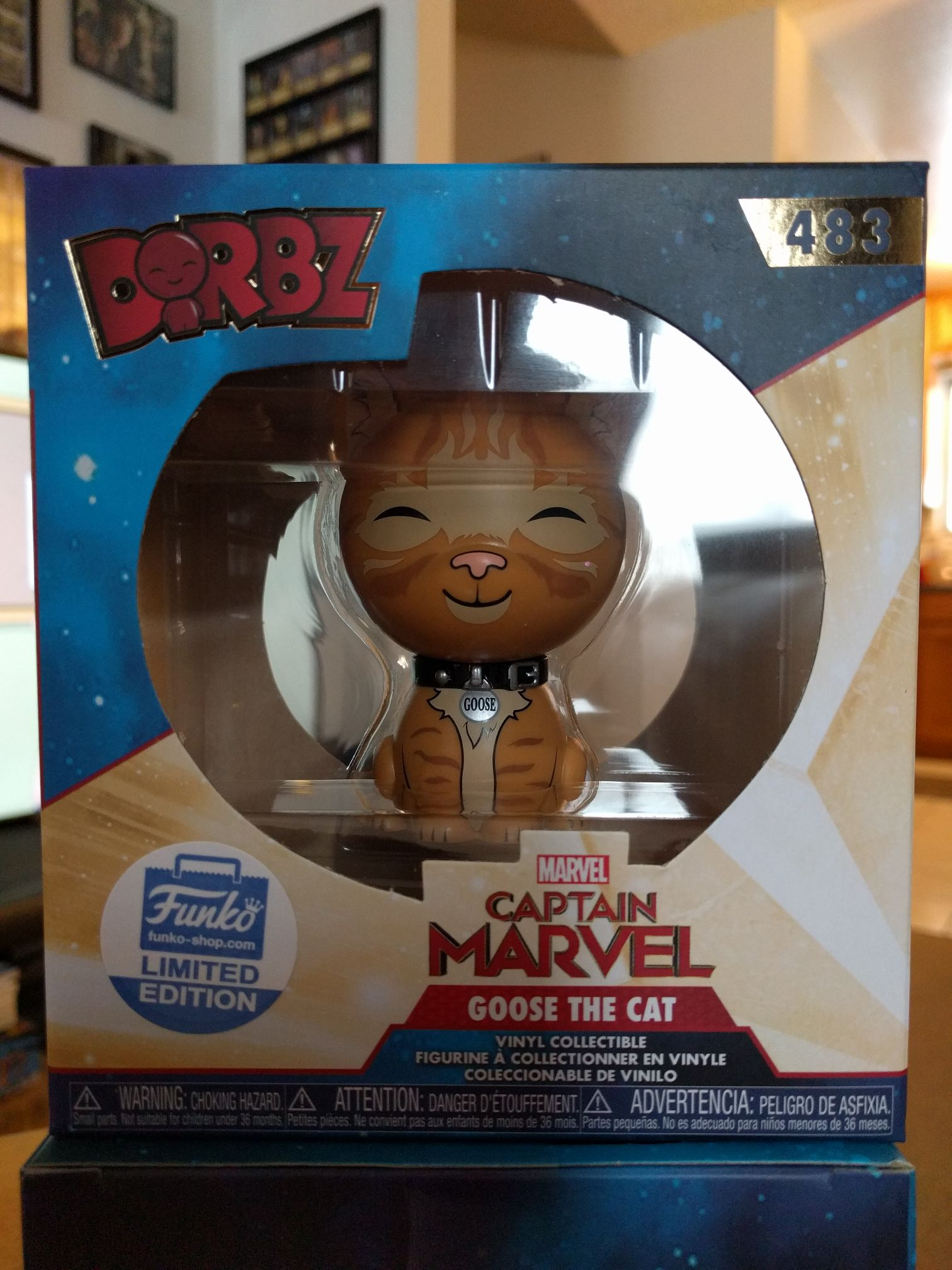 Goose the Cat Funko - Dorbz (483) front image (front cover)