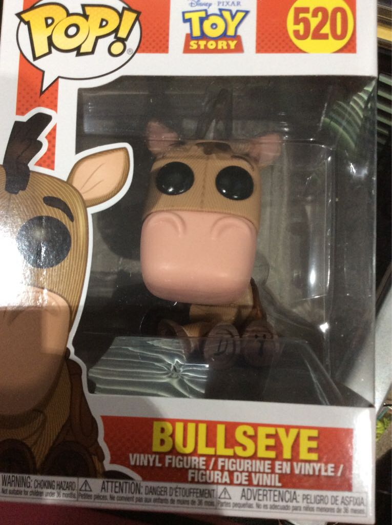 Bullseye Funko - POP! Disney (520) front image (front cover)