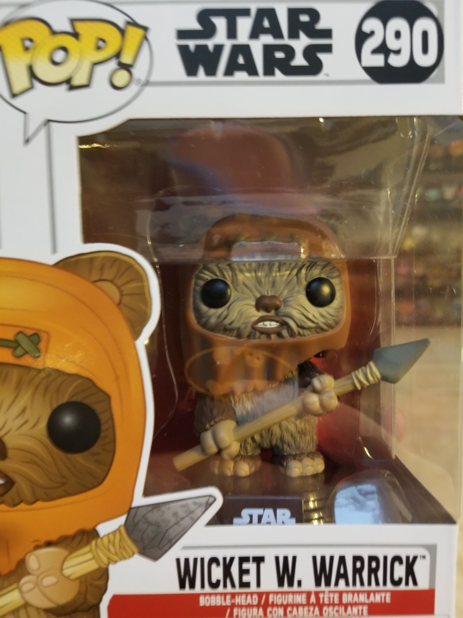 Wicket W. Warrick Funko - POP! (290) front image (front cover)