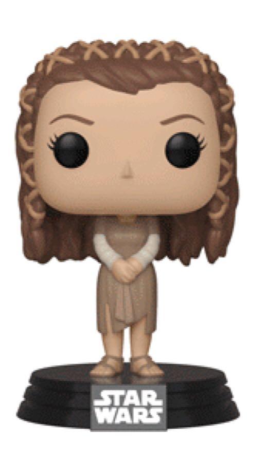 Princess Leia (Endor) Funko - POP! Star Wars (287) back image (back cover, second image)