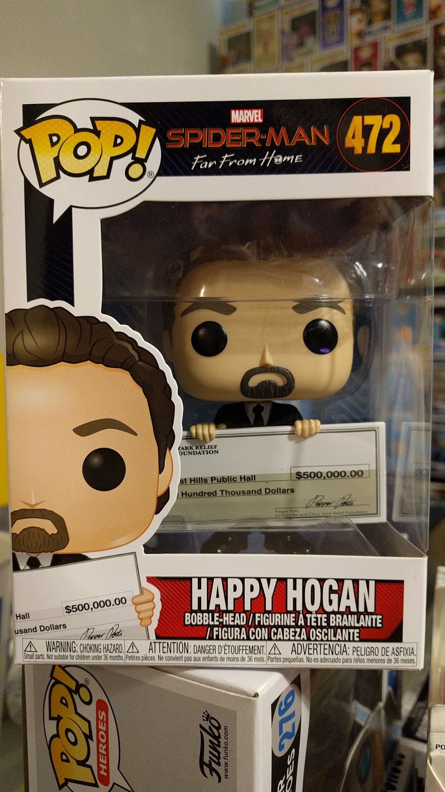 2happy hogan funko pop