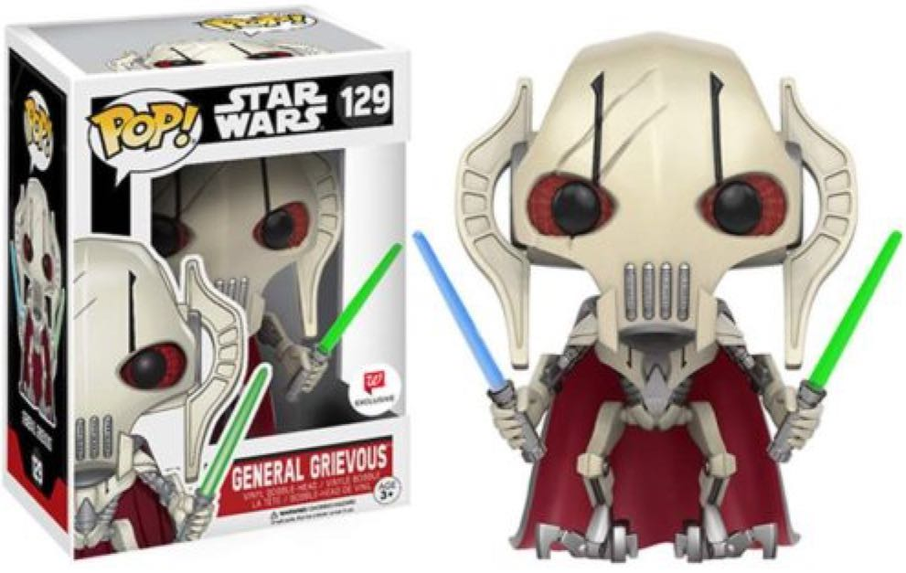 Star Wars General Grievous Funko Pop Star Wars 129 From Sort It Apps