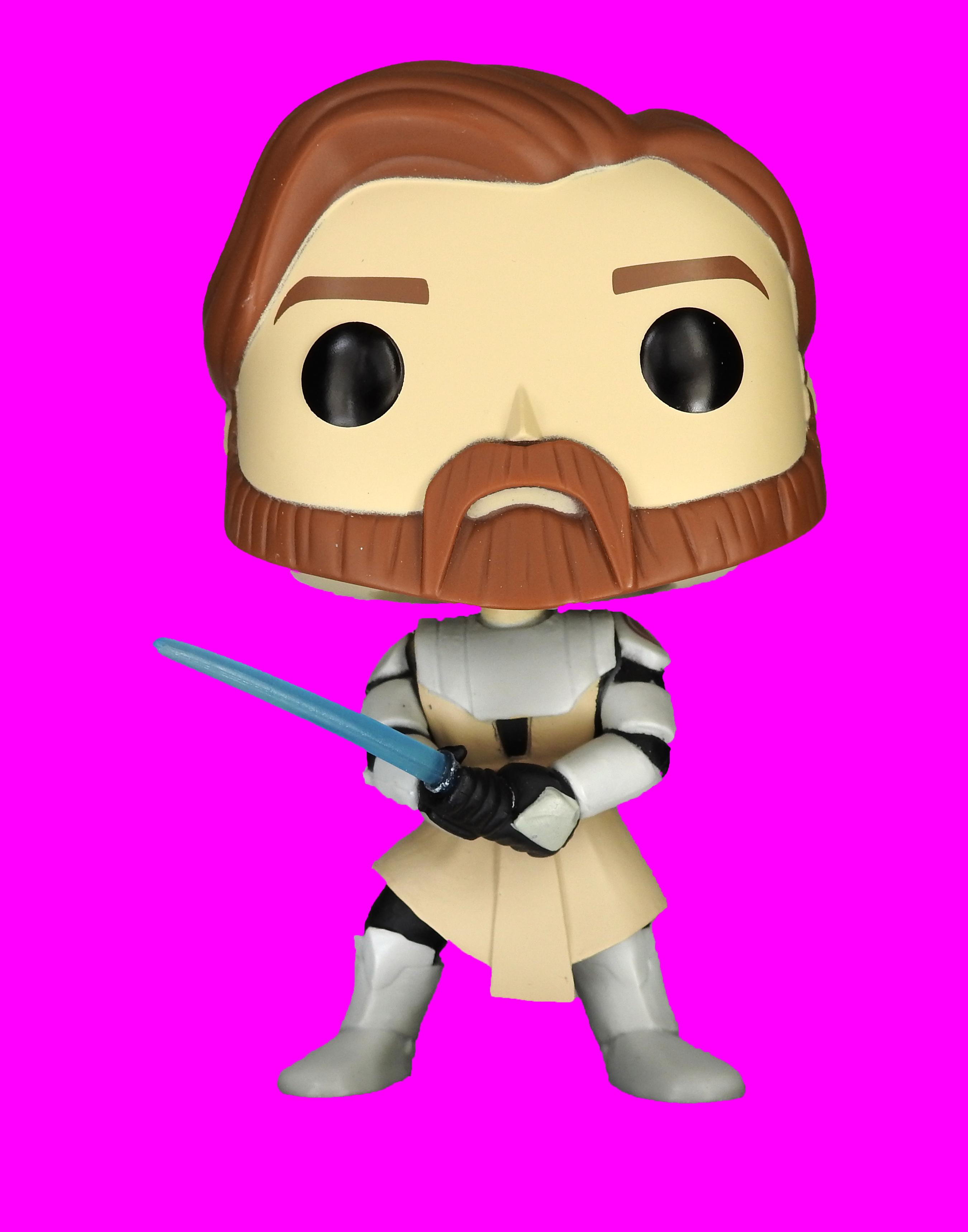 Funko Pop! Star Wars: The Clone Wars Obi Wan Kenobi Vinyl