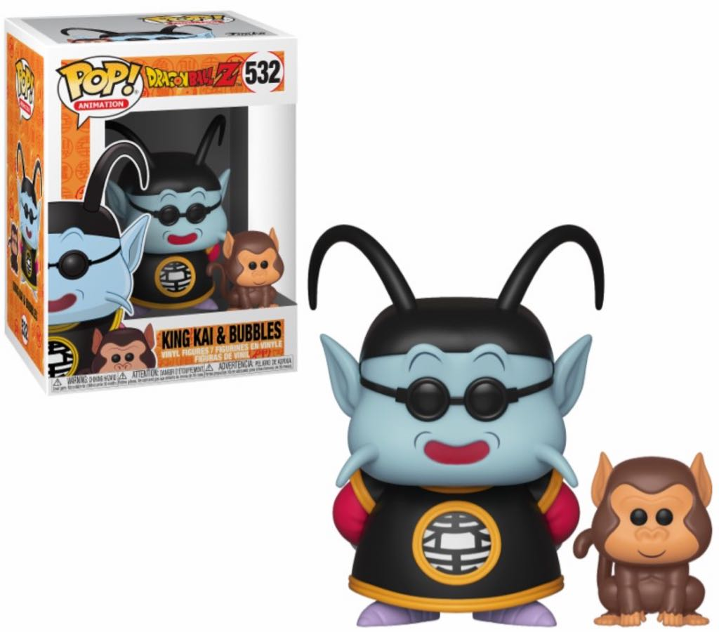 King Kai & Bubbles Funko - POP! Animation (532) front image (front cover)