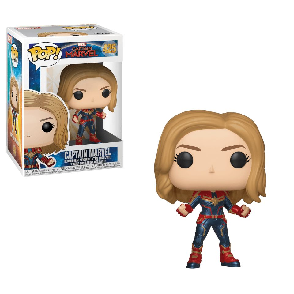 Captain Marvel Funko - POP! Marvel (425) front image (front cover)