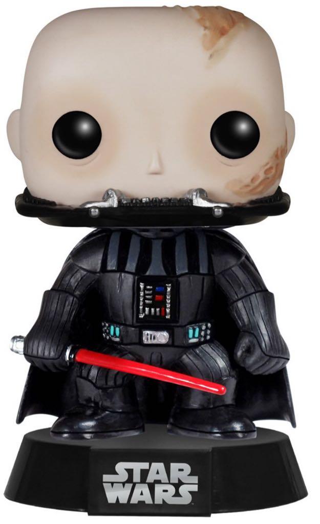 SW - Darth Vader Unmasked Funko front image (front cover)