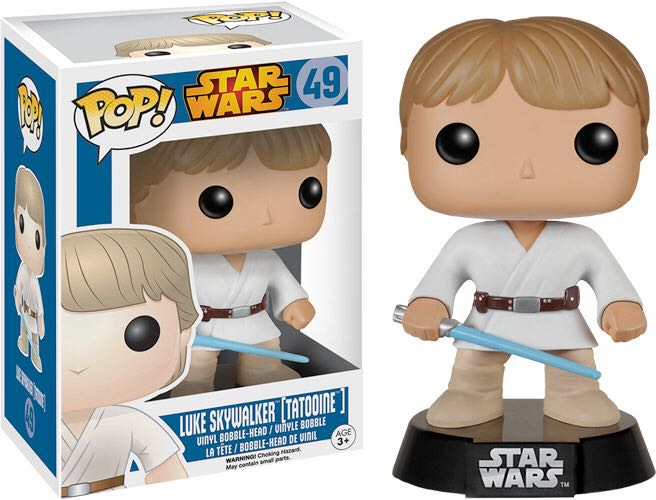 Luke Skywalker [Tatooine] Funko - POP! (49) front image (front cover)