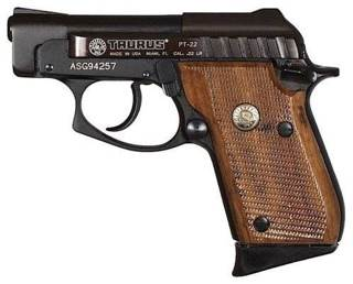 PT 22 Gun front image (front cover)