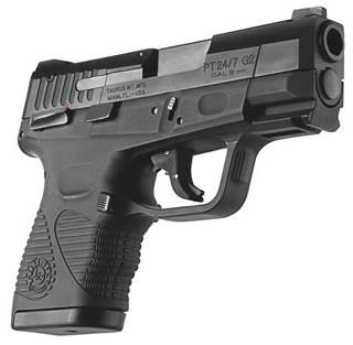 PT24/7 G2 Gun (Semi-automatic Pistol) front image (front cover)