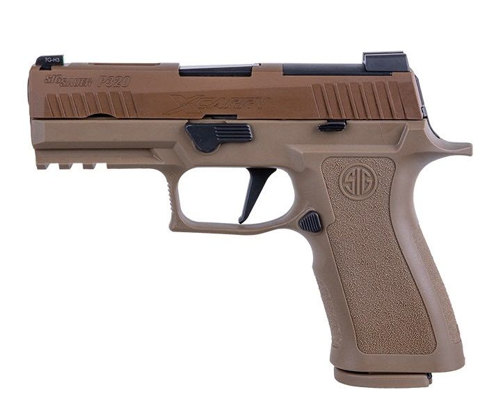 Sig Sauer 320 X-Carry 9mm Coyote Gun - Sig Sauer (Semi-automatic Pistol) front image (front cover)