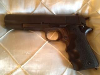 Government 1911 Gun - Remington (Automatic Pistol) front image (front cover)