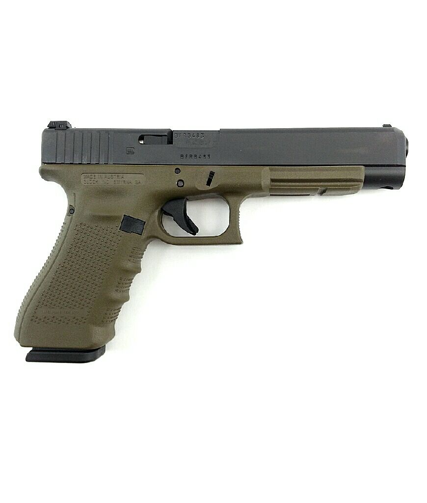 Glock 34 Gun (Semi-automatic Pistol) front image (front cover)