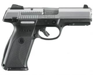 Sr9 Gun - Ruger (Semi-automatic Pistol) front image (front cover)