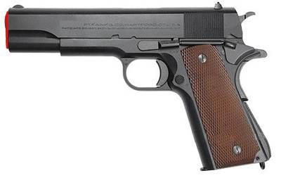 Government 1911 Gun (Automatic Pistol) front image (front cover)