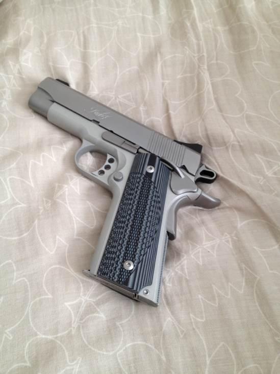 1911 Gun - Kimber (Semi-automatic Pistol) back image (back cover, second image)
