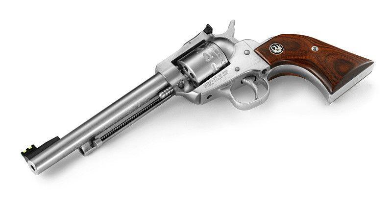 Ruger New Model Single-Six Hunter Convertible Gun - Ruger (Revolver) back image (back cover, second image)