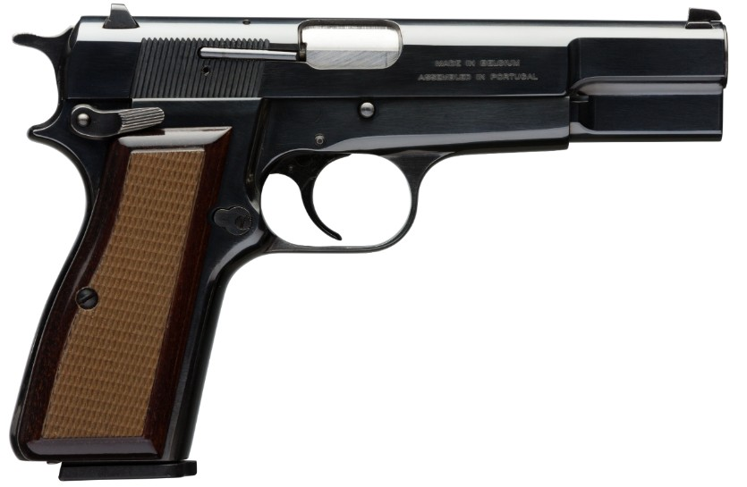 Hi Power Gun - Browning (Semi-automatic Pistol) front image (front cover)