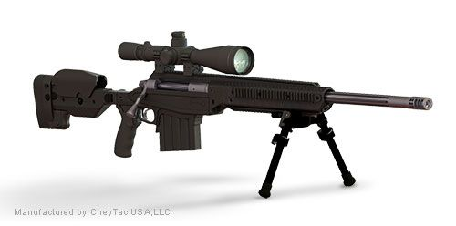 M300 Gun - CheyTac (Bolt Action Rifle) front image (front cover)