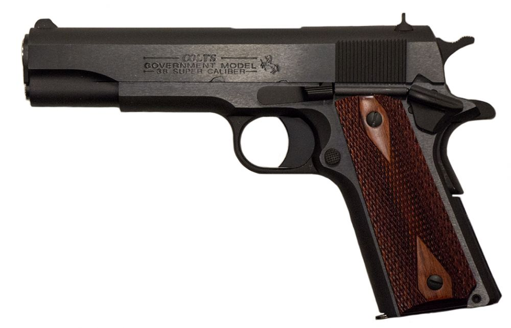 1911 Chambered Gun - Colt (Semi-automatic Pistol) front image (front cover)
