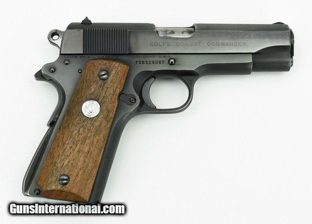 Combat Commander Gun - Colt (Semi-automatic Pistol) front image (front cover)