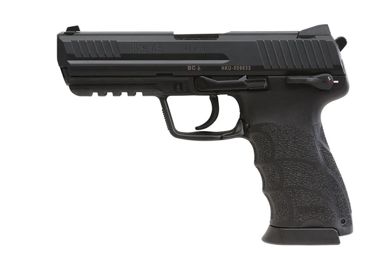 45 Gun - H&K (Semi-automatic Pistol) front image (front cover)