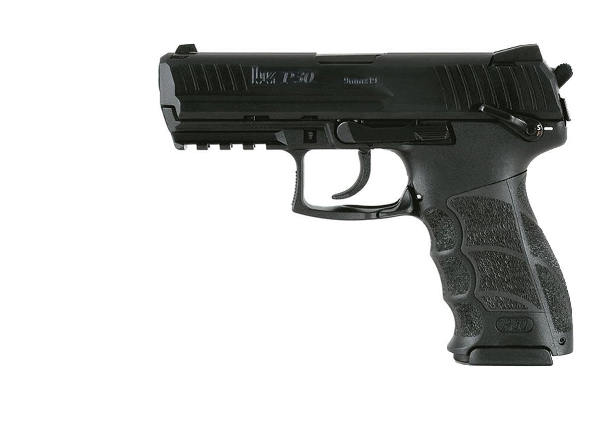 P30-V3 Gun - H&K (Semi-automatic Pistol) front image (front cover)