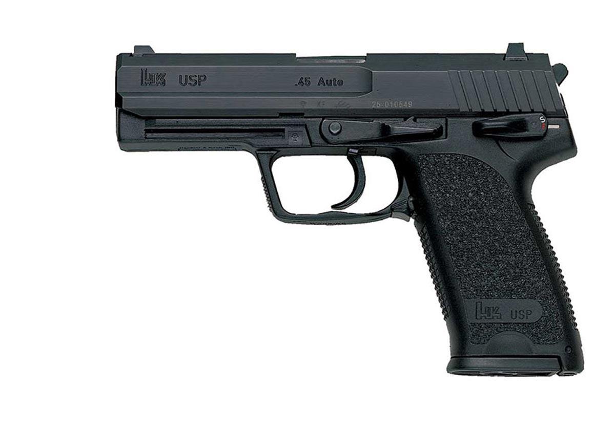 UPS Gun - H&K (Semi-automatic Pistol) front image (front cover)