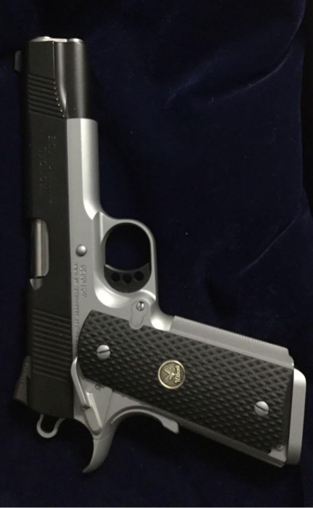 Wilson Combat Supergrade Gun front image (front cover)