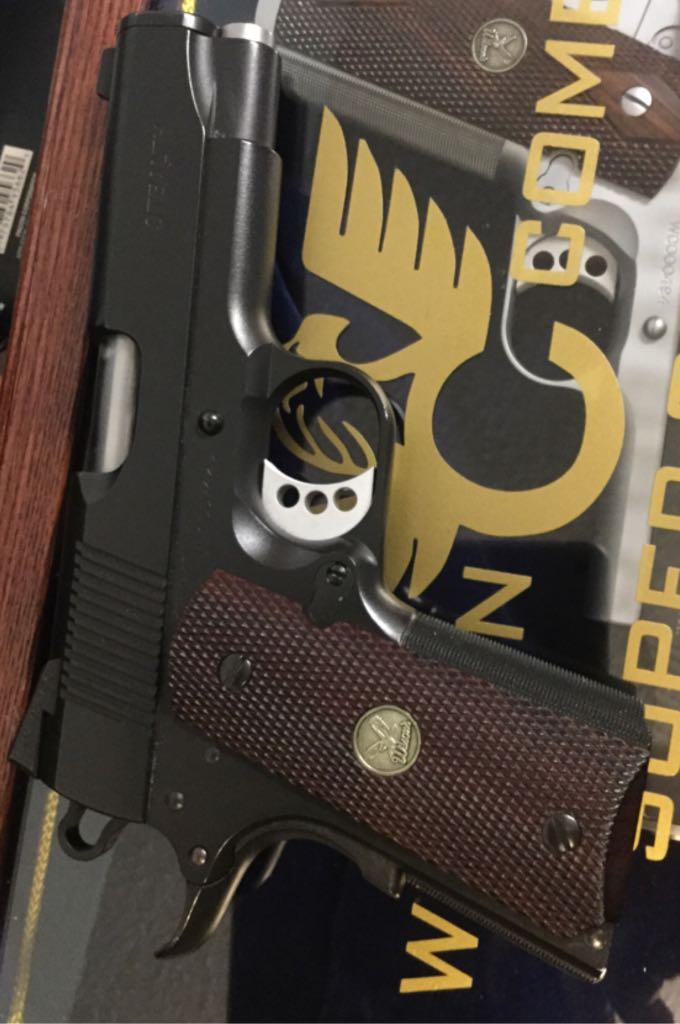 Wilsoncombat Stealth Gun - Wilson Combat front image (front cover)