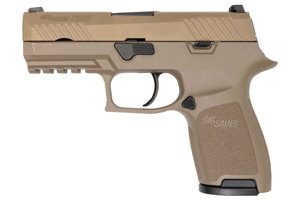 P320 Gun - Sig Sauer (Semi-automatic Pistol) front image (front cover)