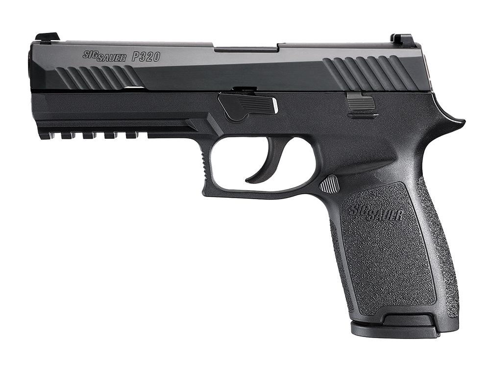 P320 Gun - Sig Sauer (Semi-automatic Pistol) front image (front cover)