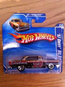 Chevy Bel Air 57' Toy Car, Die Cast, And Hot Wheels - Hot Wheels Edition (2010) front image (front cover)