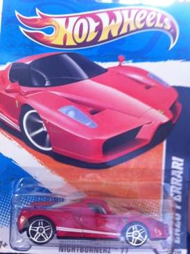 Enzo Ferrari Toy Car, Die Cast, And Hot Wheels - Enzo Ferrari (2011) front image (front cover)