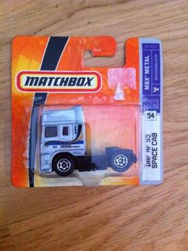 Daf XF 95 Space Cab Toy Car, Die Cast, And Hot Wheels - Matchbox (2005) front image (front cover)