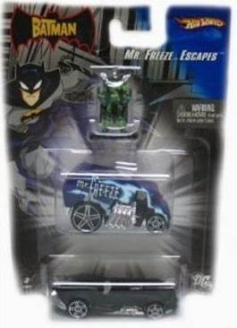 The Batman-Tremblor Getaway Toy Car, Die Cast, And Hot Wheels - L1699 (2006) front image (front cover)