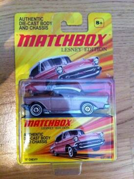 Chevy 57' Lesney Edition Toy Car, Die Cast, And Hot Wheels - Matchbox Lesney Edition (2010) front image (front cover)