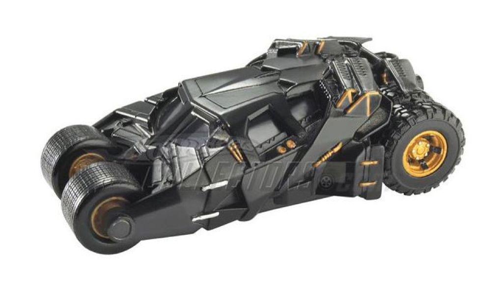 The Dark Knight Batmobile (Tumbler) Toy Car, Die Cast, And Hot Wheels - M7099-0980 (2008) front image (front cover)