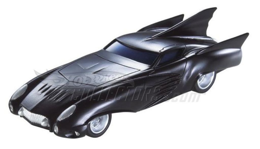 Comic Book Batmobile Toy Car, Die Cast, And Hot Wheels - M7101 (2008) front image (front cover)