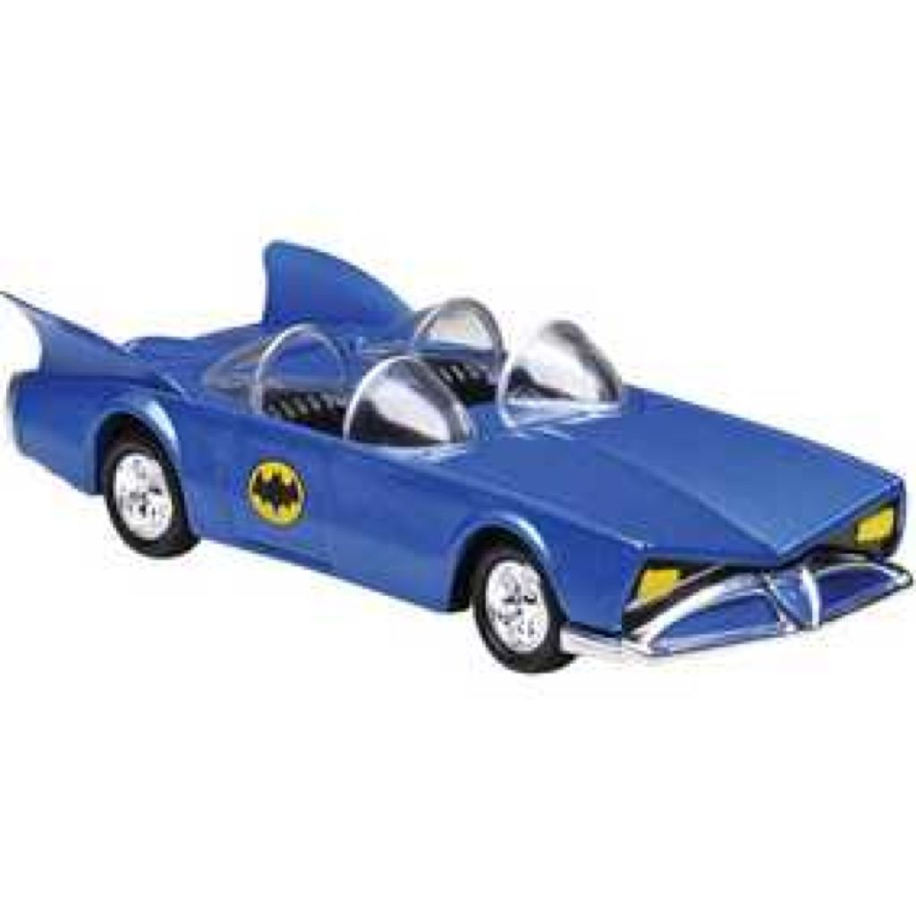 Super Friends Batmobile™ Toy Car, Die Cast, And Hot Wheels - N8015 (2009) front image (front cover)