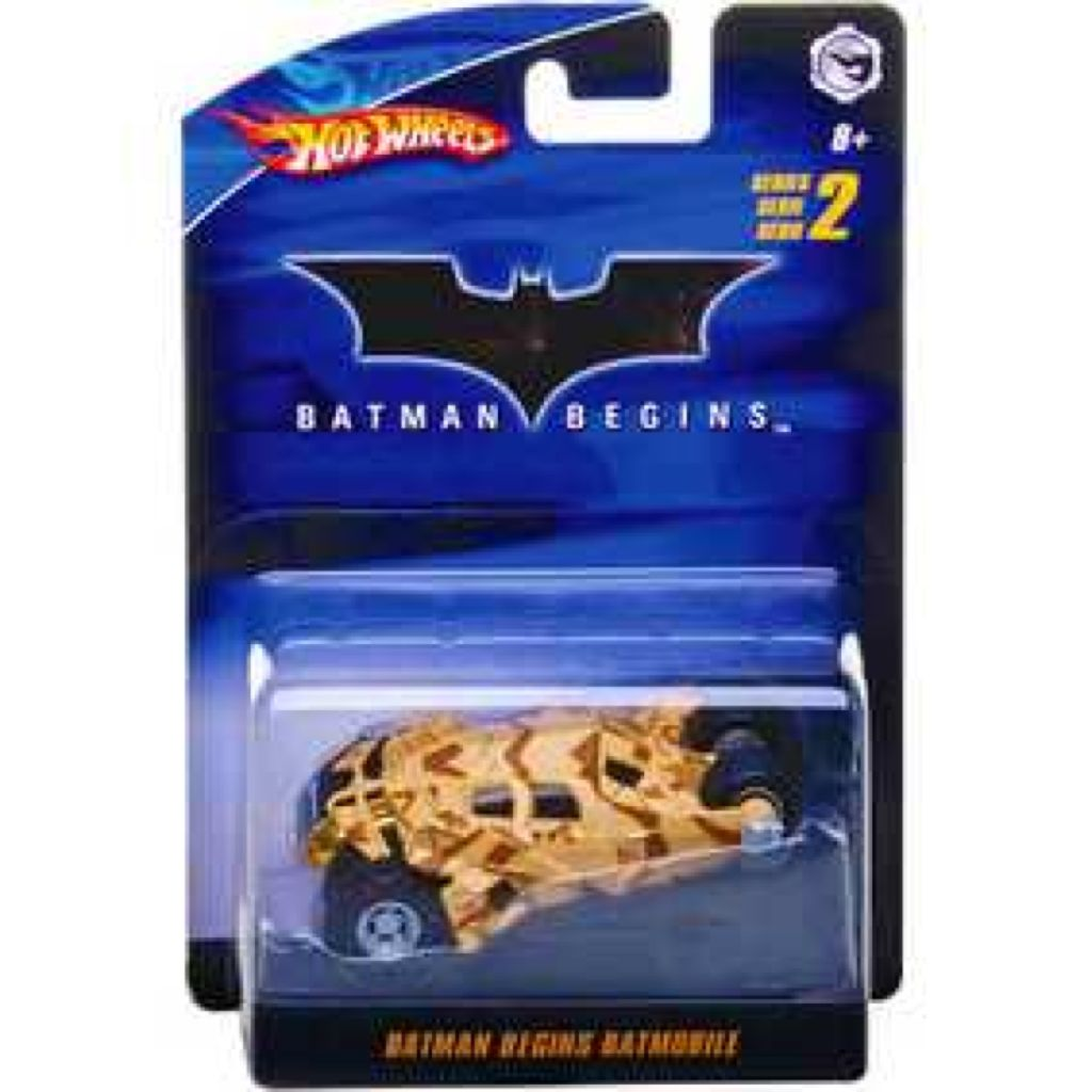 Batman™ Begins Batmobile™ Tumbler Toy Car, Die Cast, And Hot Wheels - N9235 (2009) back image (back cover, second image)