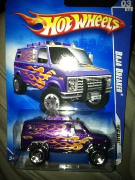 2009 Hot Wheels Baja Breaker Toy Car, Die Cast, And Hot Wheels - Baja Breaker (2009) front image (front cover)