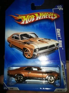 Chevy Nova Toy Car, Die Cast, And Hot Wheels - Chevy Nova (2009) front image (front cover)
